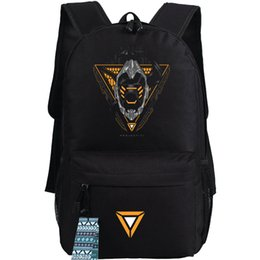 Wholesale Master Yi - Master Yi backpack League of Legends daypack The Wuju Bladesman schoolbag Game lol rucksack Sport school bag Outdoor day pack