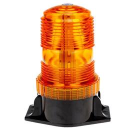 Estroboscópio amarelo 12v on-line-30 LED Amarelo Flash Strobe Aviso de Emergência Aviso de Perigo Rodada Caminhão Leve Veículo Carro Telhado Top