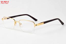 Wholesale Amber Surface - New Fashion 2017 Fishing Sunglasses Men Flat Surface Glasses Polarized Lightweight Glasses Drive Semi Rimless Clear Lens Glasses