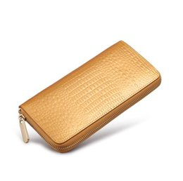 Wholesale New Women Clutch Wallet - New long wallet wallet handbag mobile phone wallet zipper clutch bag
