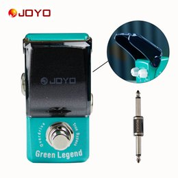 Wholesale Joyo Multi Effect Pedal - JOYO Ironman series mini pedals Green Legend Guitar pedal+MOOER PC-S pedal connector guitar effect pedal