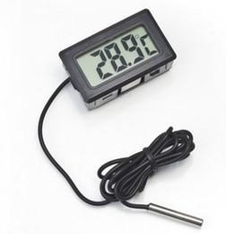 Wholesale Lcd Digital Thermometer Hygrometer - Digital LCD Thermometer Hygrometer Temperature sensor Meter Weather Station Diagnostic tool Thermal Regulator Termometro Digital -50~ 110