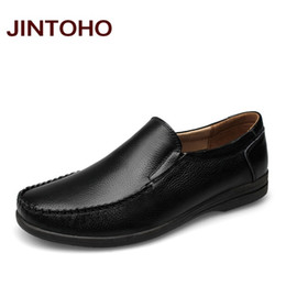 Wholesale Sexy Wedding Dresses Men - New Men's Real Cowhide Leather Oxford Shoes sexy waterproof shoes Insole Lacing Business Dress Man Wedding design footwear Shoes