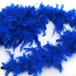 Wholesale Boa Scarves - Wholesale- 13 Color Fluffy Feather Boa Dressup Hen Night Wedding Party Club Dress Decor