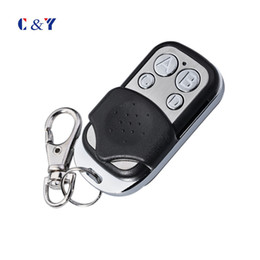 Wholesale Garage Remote Control Free Shipping - Wholesale- Free shipping !!! Universal cloning Remote Control Key Fob for Car Garage Door Gate 433mhz