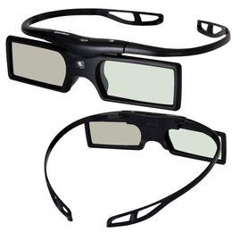 Wholesale Vivitek Projector Dlp - Wholesale-Set Sale 3D Glasses for DLP-Link projector Beamer OPTOMA GT750 GT360 HD20 HD21 Benq Viewsonic Acer Dell Vivitek Sharp NEC