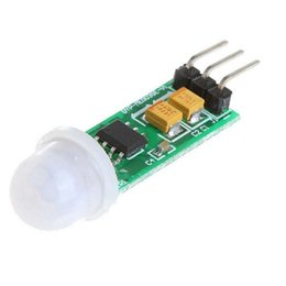 Wholesale Mini Pir Module - Wholesale-Free shipping Mini e06 small human body sensor module hc-sr505 mini pir sensor switch