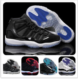Wholesale Lowest Priced Mens Shoes - Wholesale JXI Basketball Shoes mens Size Top Quality Mens Sports Shoes 11 RETRO SPACE JAM 2016 trainer Cheap Price Online Sale women sneaker