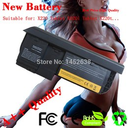 Wholesale Thinkpad Battery Fru - Wholesale-5200mAh 6Cells Laptop Battery 0A36285 42T4877l ASM 42T4882 FRU 42T4881 For Lenovo ThinkPad X220t X220 Tablet X220i Tablet
