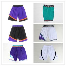 Wholesale Branded Logo - New 2017 Brand Swingman Rev 30 Men Basketball Shorts Green Purple White Black Blue Red Running Sports Pants Cheap Embroidery Logo Breathable