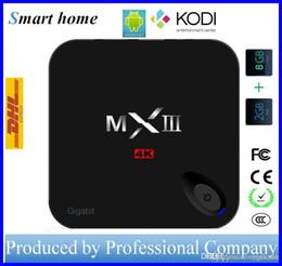 Wholesale Core Arms - MXIII Android TV Box Amlogic S812 Quad Core Octa core ARM Mali-450 2G 8GB ROM 2.4G STB037