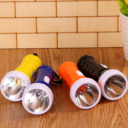 Wholesale Types Led Flashlight Bulbs - A423 two yuan 219 flashlight light rechargeable flashlight LED mini flashlight can not spread the goods