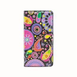 Wholesale Leopard S3 - Jellyfish Pattern Flip Leopard Embossment Wallet Case with Credit ID Card Slots Foriphone 5 5S 5SE 6 6s 6s Plus 7 7Plus,Samsung S3 S4 S5 S4m