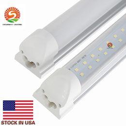 Wholesale U Double - U Shaped Integrated Led Tubes Double T8 Led Lights 4ft 28W 8ft 72W Led Tubes 1200mm 2400mm AC110-240V UL DLC