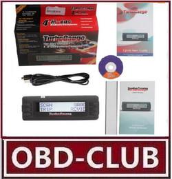 Wholesale Scan Tool For Cars Computer - Free Shipping Turbogauge IV 4-in-1 Vehicle Computer OBDII EOBD car trip computer   Digital Gauges  scan gauge  car scan tool