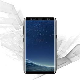 Wholesale Transparent Mobile For Sale - Hot Sale For Samsung S8 3D S8plus Hot Bending Surface Soft PET Transparent Screen Mobile Phone Protection Fil