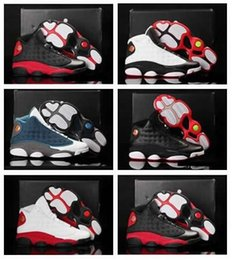 Wholesale Men S Discount Shoes Online - 2016 New Retro 13 basketball shoes Best Discount Sports Shoes Leather Men s Basketball Shoes Online Athletics Retro Outdoors Sneakers
