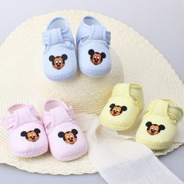 Wholesale Tigers Shoes Wholesale - Wholesale- Infant Baby Prewalker Heart Tiger Cartoon shoes Toddler Girls Boys Soft Anti-Slip Crib Shoes