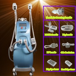 Wholesale Cavitation Screen - 8 inch colour touch screen 4 in1 fat freeze multipolar RF Cavitation slimming freezing fat reduce Anti-Cellulite body lift machine