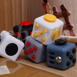 Wholesale Decompression Toys - 2017 New Popular Decompression Toy Fidget cube the world's first American decompression anxiety Toys In stock Fast Shipping