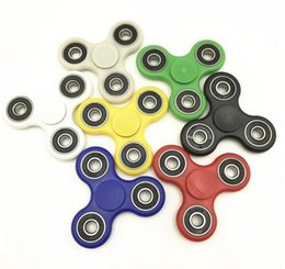 Wholesale Hasbro Toys Wholesale - 6 Colors Hand Tri-Spinner Fidget Toy Plastic EDC Sensory Fidget Spinners For Autism And ADHD Kids Adult Funny Anti Stress Toys hasbro toy
