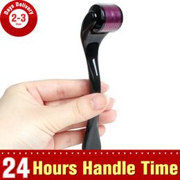 0.5mm 1.0mm 1.5mm 2.0mm Microneedling Dermaroller In Acciaio Inox Medico Micro ago Derma roller pelle per Acne Cicatrici Rughe Stretch Rej da pelle di dermaroller fornitori