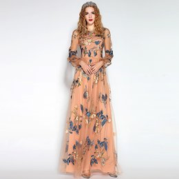 Wholesale Celebrity Wedding Dresses For Cheap - Designer Chiffon Long Prom Dresses For Homecoming Girls Women Sale Cheap IN STOCK Arabic Dubai Celebrity Wedding Evening Formal Gowns