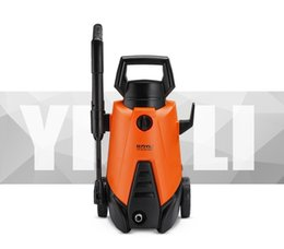 Wholesale Portable Car Washer Pressure - Wholesale- 1400W Water Priming Or Connect Water Tap Portable High Pressure Car Washer Free Shipping With DHL