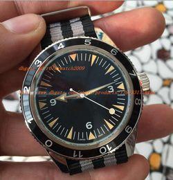 Wholesale Factory Auto Glass - 2017 Factory direct New Stylish Auto Sea 300 Spectre Limited Edition Men's Wristwatch Color Fabric Belt Glass Back Chronometer James Bond Sp