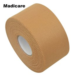 Wholesale Rigid Strap - Wholesale- 1 Roll 3.8cm*13.7m Rigid Strapping Tape Sports Australian Style Rayon Rigid Strappal Tape Basketball Team Zinc Oxide Adhesive