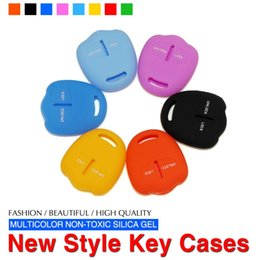 Wholesale Outlander Key - Silicone Key Cover Fit For Mtsubishi Lancer Grandis Outlander Pajero Sport Car Styling