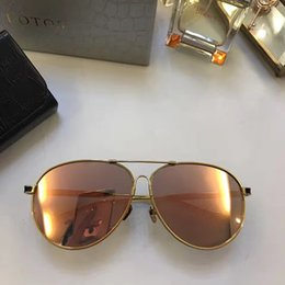 Wholesale Germany Pink - LT389 LOTOS Luxury Germany Sunglasses Fashion Women Brand Designer Retro Style UV Protection CR-39 Lens Full Frame Free Come With Case
