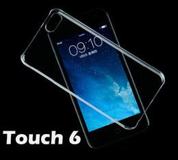 Custodia trasparente posteriore in cristallo trasparente per PC Custodia trasparente per iPod Touch5 Touch6 Touch 5 6 da