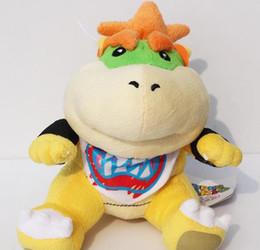 "Wholesale Super Mario Brothers Plush Figures - Super Mario plush toy Brothers Bowser JR Plush Toy Doll 6""super mario plush toy doll"