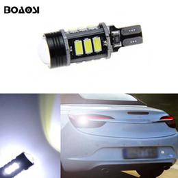 Wholesale Opel Light For Car - BOAOSI Canbus T15 LED Reverse Lights W16W 5630SMD Car LED Backup Light Bulb For Opel Combo Box Meriva B Mokka Zafira Tourer