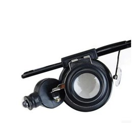 Wholesale Electronics List - High listing 20 times wearing glasses type with a magnifying glass with light Electronic clock repair jewelry appraisal magnifying glass