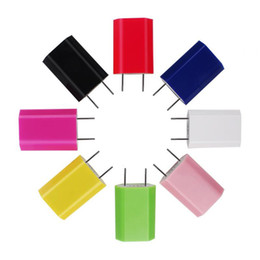 Wholesale Andriod Notes - hot sale US EU Plug I4 USB Travel Charger Wall Charger Dock Charger for Iphone samsung galaxy S6 S7 note tablet Andriod