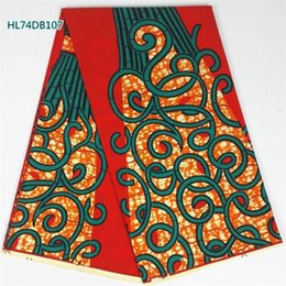 Wholesale Wax Clothes - wholesale and retail New arrival African wax fabric,Most popular high quality African ankara fabric wax 6 Yards for party clothing!
