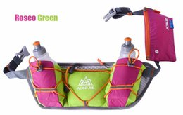 Wholesale Orange Golf Bag - Men Women Running Waist Pack Lightweight Outdoor Sports Racing Hiking Gym Fitness Hydration Belt Water Bottle Hip Bag