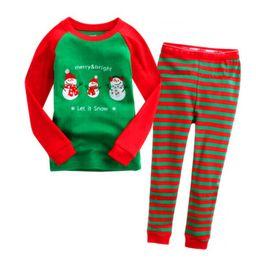 Wholesale Christmas Pajamas For Children Cotton - Children Christmas Pajamas Set Cartoon Kids Pijamas For Boys 2-7 Years Girls Pyjama Set Toddler Boys Sleepwear Costume For Boys