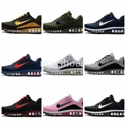 Wholesale Baby Brown Shoes - Drop Shipping Famous 2017.5 Airs Cushion 2017.8 KPU Mens Athletic Sneakers 2017 Sports Running Baby Kids Athletic Shoes Size 7-12