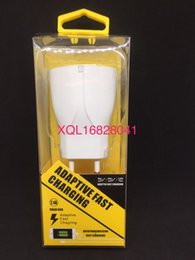 Wholesale Iphone Pin Eu - Set Charger With Nice Package 1USB Wall Charger 2.1A High Quality Good IC Board 5V2.1AUS EUR PIN
