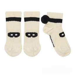 Wholesale High Quality Girls Socks - Fashion Children socks spring summer boys girls bulb knitting short socks high quality kids glasses pure cotton warm short socks T0477