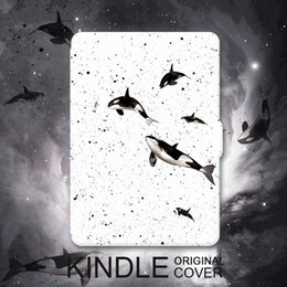 Wholesale Kindle Paperwhite Skins - Wholesale- Original Design Kindle Paperwhite Case Skin,Lighted Slim Leather Cover Fit Kindle Paperwhite2013 2015 2016 6th generation