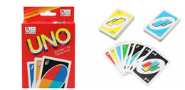 Wholesale Family Board Games New - New UNO Poker Card Family Fun Entermainment Board Game Standard Edition Kids Funny Puzzle Game Christmas Gifts