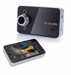 Wholesale Motion Dashboard - K6000 1080P Full HD LED Night Recorder Dashboard Vision Veicular Camera Dashcam Carcam Video Registrator Car DVR