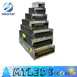 Wholesale 12v 25a - Latest AC 110V 220V to DC 12V 2A 5A 10A 15A 20A 25A 30A Led Transformer 60W 120W 180W 240W 300W 360W Power Supply For Led Modules Led Strips
