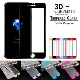 Wholesale Titanium Iphone Back - For iPhone 7 8 6s plus Tempered Glass Screen Protector Titanium Alloy front & back 3D Screen Protector Film
