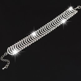 Wholesale White Austrian Crystals Bracelet - Brand Design 2017 Fashion Jewelry sliver Bracelet Austrian Crystal Bracelet Women's Bracelets Wedding Jewelry The girl a gift