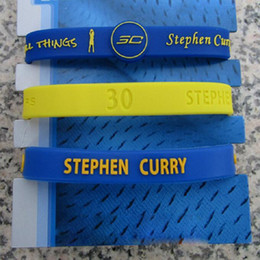 Wholesale Popular Silicone Wristbands - Wholesale 3pcs lot Popular Basketball Star Bracelet Silicone Wristband Rubber Hand Ring Band Superstar Free Shipping
